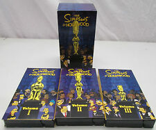 The Simpsons Go Hollywood Vol. 1, 2 and 3 VHS Tape Set 1999 20th Century Fox