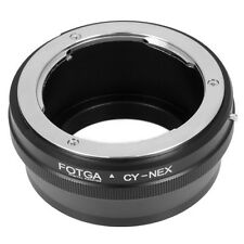 Contax Yashica CY lens to Sony E Mount Adapter A6000 A7R A7 A3000 NEX-5T NEX-3N