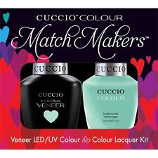 CUCCIO Veneer Match Makers - MINT CONDITION 6100 Pastel Mint Green Gel Duo Kit