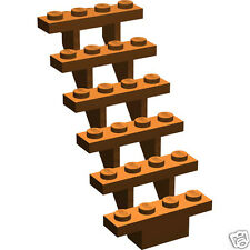 Lego Dark Orange Staircase in HARRY & THE HUNGARIAN HORNTAIL 4767 Only