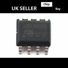 2x Alpha & Omega ao aon4407a Ao4407a 4407a 30v P-channel Mosfet Ic Chip