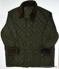 RALPH LAUREN Mens 4XLT Danbury Quilted Jacket Corduroy Collar Spring/Fall 4LT 4X