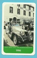Silver Ghost Rolls Royce Car Cool Collector Card from Europe