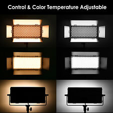 Neewer Dimmable Bi-color SMD LED with U Bracket and Barndoor Video Light