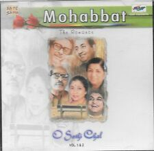 MOHABBAT(O SATHI CHAL) VOL.1 & 2 - FILMS SONGS - BRAND NEW CD - FREE UK POST