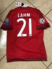 Germany bayern Munchen Lahm Shirt Player Issue Adizero No Formotion Match Unworn