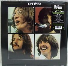 "New & Sealed The Beatles ""Let It Be"" 180-Gram Vinyl LP Record Remastered Free Sh"