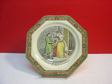 Adams China CRIES OF LONDON Octagonal Salad Plate