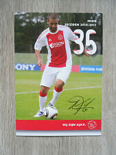 MIDO * AJAX, AS ROME, MARSEILLE & EGYPT - AUTOGRAPHCARD !!