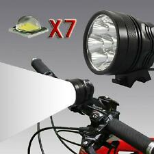 9800 Lumen 7 *CREE T6 Super Bright LED Bicycle Lamp Light HeadLight EU Charger