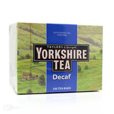 Taylors of Harrogate Yorkshire Decaf 160 Tea Bags