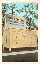 High Point North Carolina large bureau Chamber of Commerce antique pc Z17657