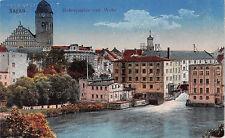 Sagan Schlesien Boberpartie mit Wehr Postkarte gel. 1919