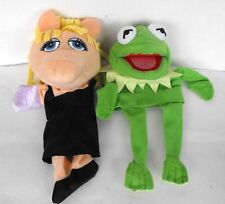 DISNEY Muppets Miss Piggy Kermit hand puppets dolls Netherlands mint great L@@K