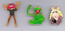 Disney Shopping The Muppet Show Kermit the Frog Miss Piggy Animal Pave Pin Set