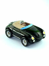 Micro Machines Vehicle Car Porsche 356 Speedster Black Sports Car Galoob