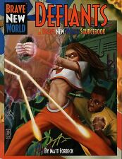 Brave New World-Defiants-Sourcebook-RPG - Roleplaying Game - (SC) - nuevo-New-very rare