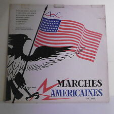 "33T MARCHES AMERICAINES / ANGLAISES Disque LP 12"" Commandant DEISENROTH -CND 826"