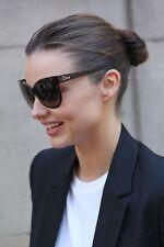 RARE NEW Authentic Christian DIOR Paname Black Cat-eye Oversized Sunglasses D28