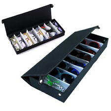 8 Slot Eyeglass Sunglasses Glasses Storage Display Grid Stand Case Box Holder