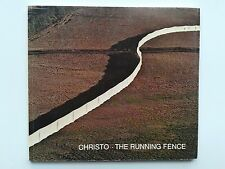 """ CHRISTO : the running fence "", Catalogue 1977 spies restany hahn"