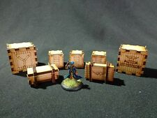 TTCombat - Old Town Scenics - Crate Set - Great for Malifaux