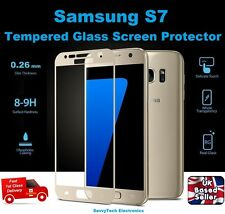 Full 3D Coverage Tempered Glass Screen Protector for Samsung Galaxy S7 GOLD