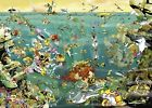NEW! Heye Under Water by Calligaro 1000 piece comic cartoon jigsaw puzzle