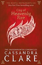 CASSANDRA CLARE _ CITY OF HEAVENLY FIRE _ (RED COVER) _ BRAND NEW __ FREEPOST UK