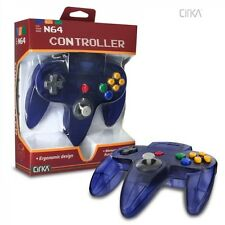 NEW Clear Grape Purple CirKa Controller Control pad Gamepad for N64 Nintendo 64