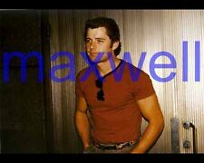 MAXWELL CAULFIELD #4425,CANDID PHOTO,closeup,DYNASTY,the colbys,GREASE 2