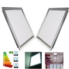 2X Ultra Slim Square 12W 300x300mm LED Ceiling Panel Flat Down Lights Day White