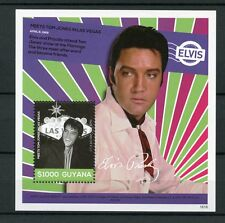 Guyana 2016 MNH Elvis Presley His Life in Stamps Tom Jones Las Vegas 1v S/S IV
