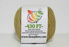 Organic HempBees Hemp Wick 430 ft 1mm w/ FREE SHIPPING - hempwick line lighter