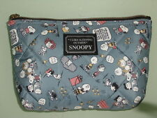 Peanuts Snoopy Cosmetic Bag Multipurpose Pouch pencil case #08