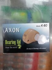 Axon K-80 Hearing Aid & Voice Amplifier