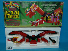 POWER RANGERS RED DRAGON THUNDERZORD BOXED ALL PARTS 392