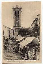 CARTOLINA 1921 VARESE SACRO MONTE LA TORRE E SCALINATA DEL SANTUARIO RIF 943/A
