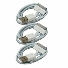 3X USB Sync Data Charging Charger Cable Cord for Apple iPhone 4 4S ipod Touch 4G