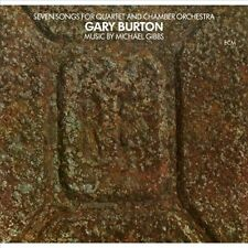 Gary Burton Seven Songs For Quartet & Chamber Orchestra vinyl LP NEW sealed