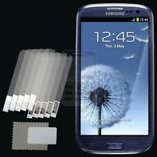 5x CLEAR PET Screen Protector for Samsung Galaxy S III S3/S3 LTE i9305/Neo i9300