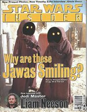 Star Wars Insider Issue #36 Prequel Update Jawas and Liam Neeson First Interview