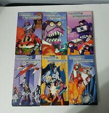 Transformers G1 cartoon Rhino Video VHS volumes 4 5 6 10 11 12 Optimus Prime