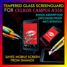ACM-TEMPERED GLASS SCREENGUARD for CELKON CAMPUS A35K MOBILE SCRATCH PROTECTOR