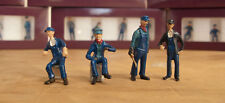 On30 On3 O Scale Figures - Set 3 - RailRoadAve Models - Painted Ready To Go.