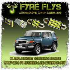 6x 3014 Series Interior LED Light Bulbs Package Kit for 07-14 FJ Cruiser - White