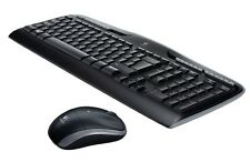 NEW Logitech K330 Wireless Keyboard & M215  Mouse Combo Set Unifying Receiver