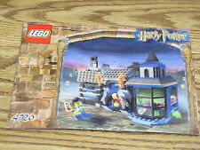 LEGO Harry Potter Set 4720 INSTRUCTION MANUAL ONLY Knockturn Alley Book Booklet