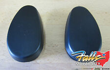 2009-2016 Dodge Ram 1500 2500 3500 Tubular Side Step End Caps Mopar OEM