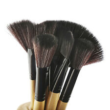 32 Pcs Foundation Superior Soft Natural Hair Makeup Brushes Set With Travel Case